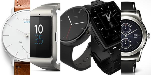 Apple Watchだけじゃない!いますぐ買えるイケてるスマートウォッチ10選