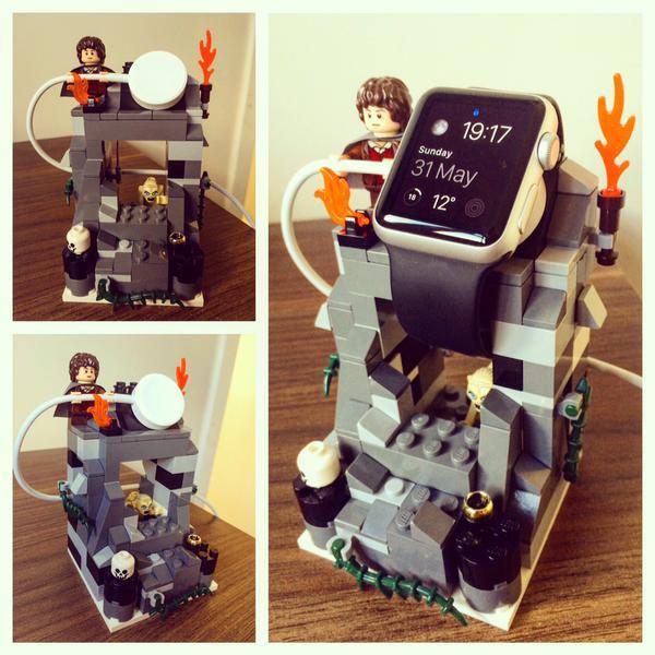 これは真似したい!LEGOで自作したApple Watchの充電スタンド8選+おまけ!