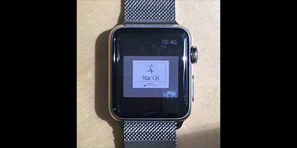 20年間のガジェットの進化を実感!Apple WatchでMac OS 7.5.5が動作することが判明