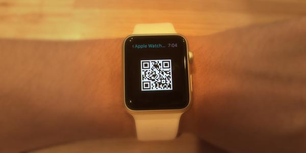 Apple Watchアピールが捗る!ドヤ顔で使えるQRリーダー「QReation」がアツい!