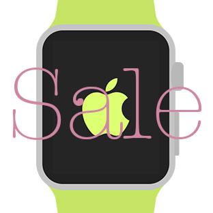 Apple Watchアプリのセール情報(2015年7月30日版)