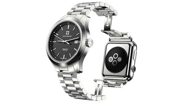 """まさに""""逆転の発想""""!AppleWatchをクラシックな時計に変えるバンド(?)が発売"""