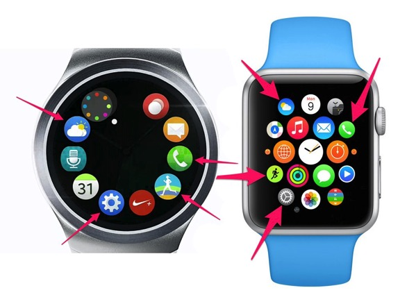 Apple watch samsung gear s2 png