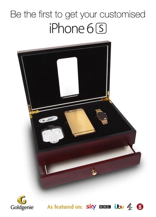 これが真の黄金体験(ゴールドエクスペリエンス)!24金メッキのiPhone6SとAppleWatchの黄金セットが予約開始間近!