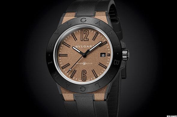 Bulgari diagono magnesium smartwatch