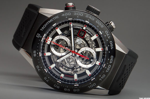 Tag heuer carrera wearable 01 smartwatch