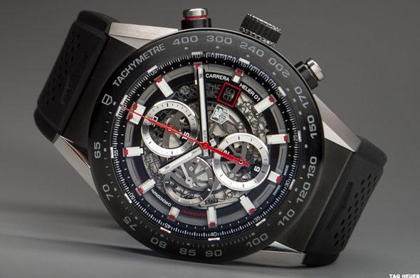 Tag heuer carrera wearable 01 smartwatch