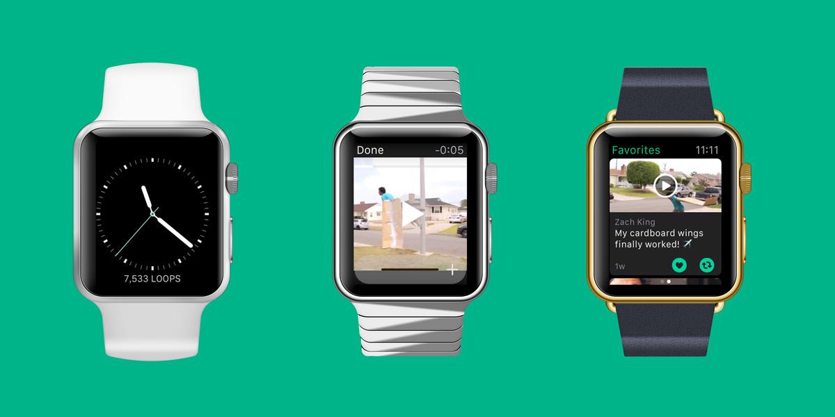 6秒動画を共有する人気のアプリ「Vine」が、ついにAppleWatchに対応しました!!