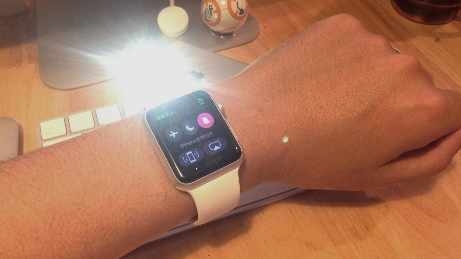 知ってた?Apple Watchの隠し機能 「iPhoneを探す」を長押しすると…