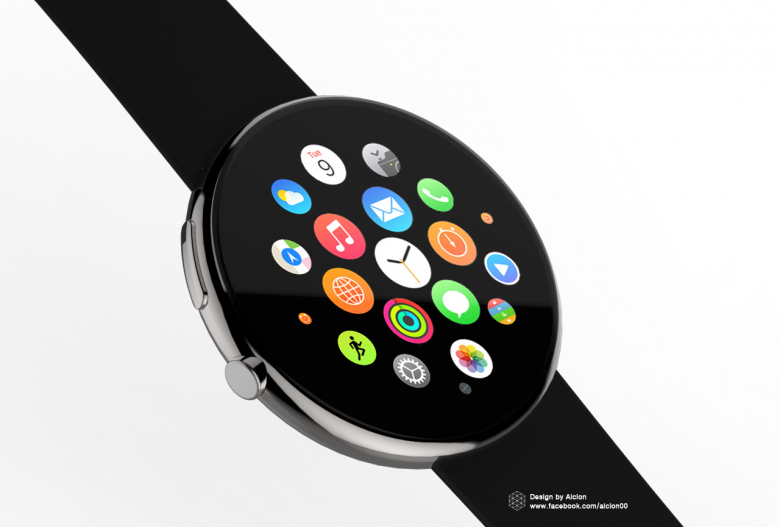 Round Apple Watch
