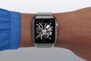 """眺めるだけで楽しい!Apple Watchを""""機械式時計""""にするアプリ「WATCHe」"""