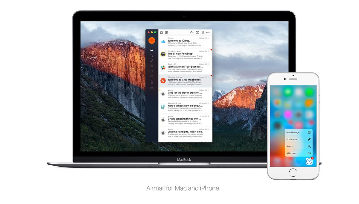 "Apple Watch対応の""神""メーラーアプリ「Airmail」でドコモのキャリアメールを使う方法"