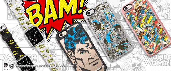バットマンvsスーパーマン公開記念!CasetifyがDCコミックとコラボしたApple Watchバンド、iPhoneケースを発表
