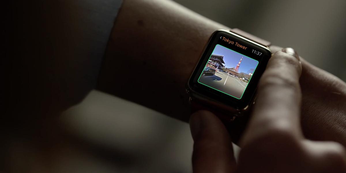 Apple WatchでGoogleストリートビューをぐりぐりできるアプリ「Streets 3」が楽しい!