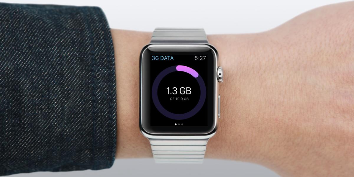 毎月のデータ通信量をApple Watchでサクッとチェック!欲しい機能が網羅された「smartapp」が便利!