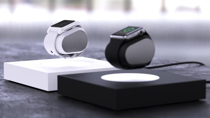 重力から解放されるAppleWatch用充電ドック「LIFT」 : Kickstarterで資金調達を開始