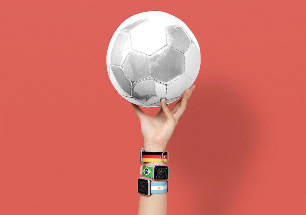 Casetifyからもオリンピック用のApple Watchバンドが登場!本家を上回る20パターンで展開