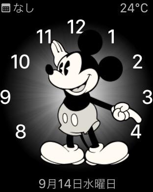 [watchOS 3の新文字盤]今度のミッキーは喋る!? ミッキーマウス&ミニーマウス