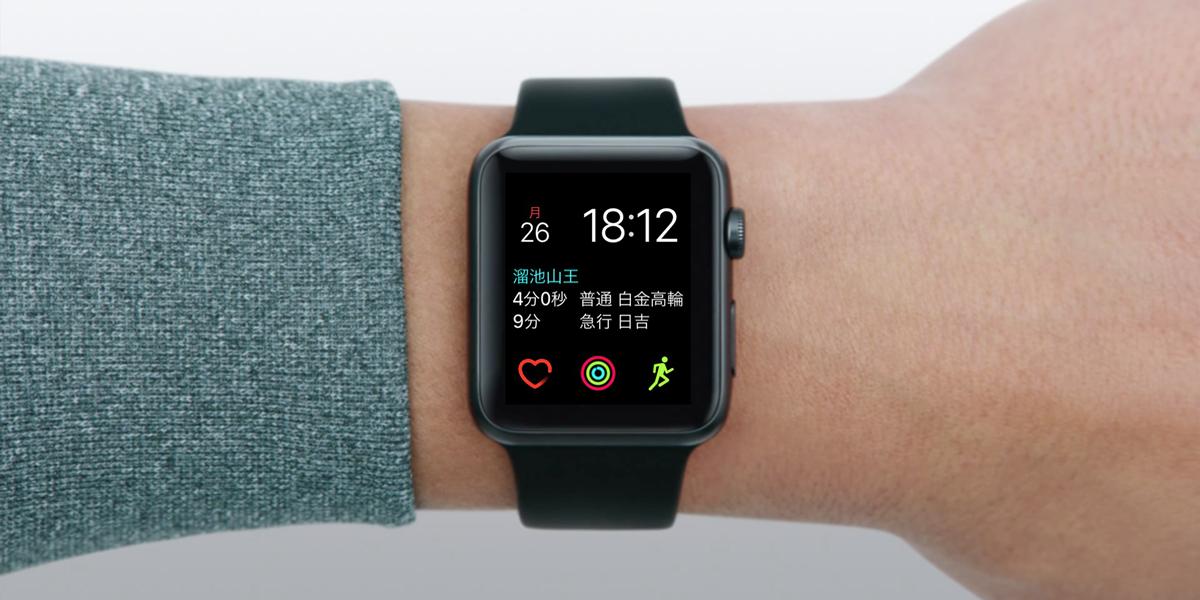 Dockもコンプリケーションも便利すぎ!watchOS3時代の時刻表アプリは「駅.Locky」で決まりだ!