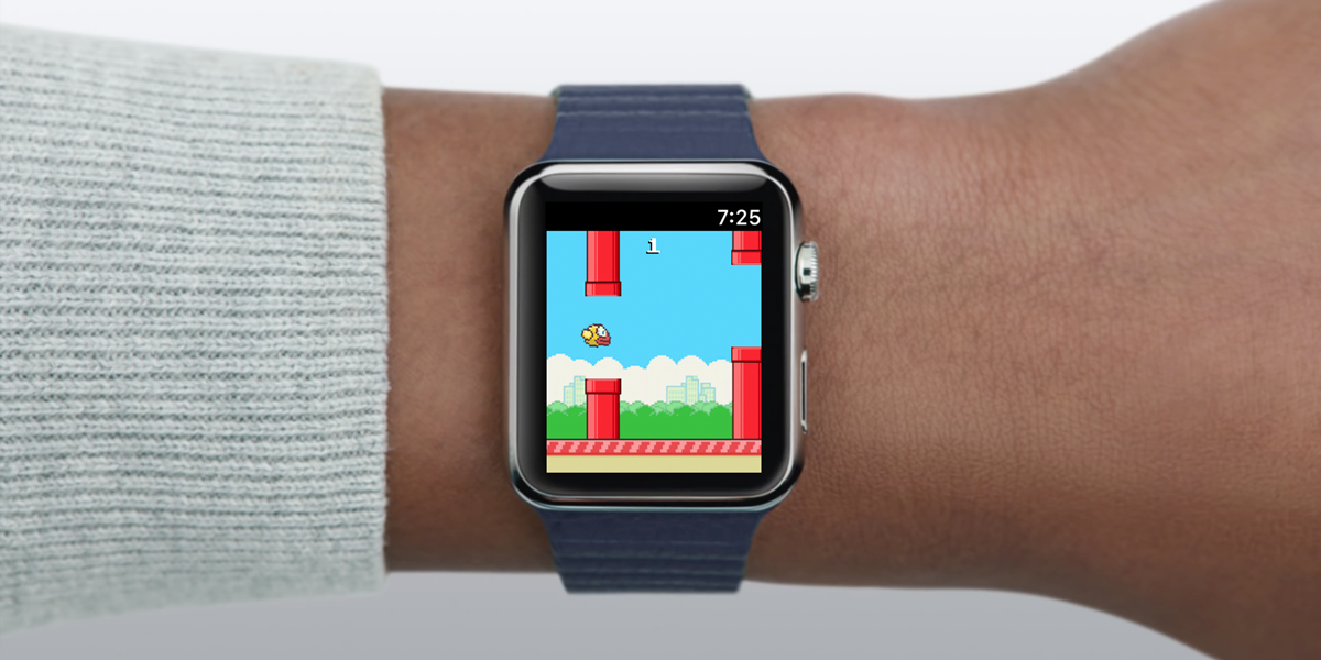 Flappybird on AppleWatch