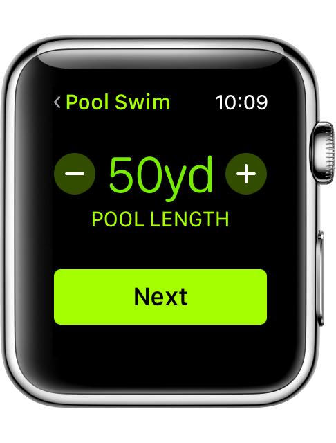 Wachos3 workout swim set pool length