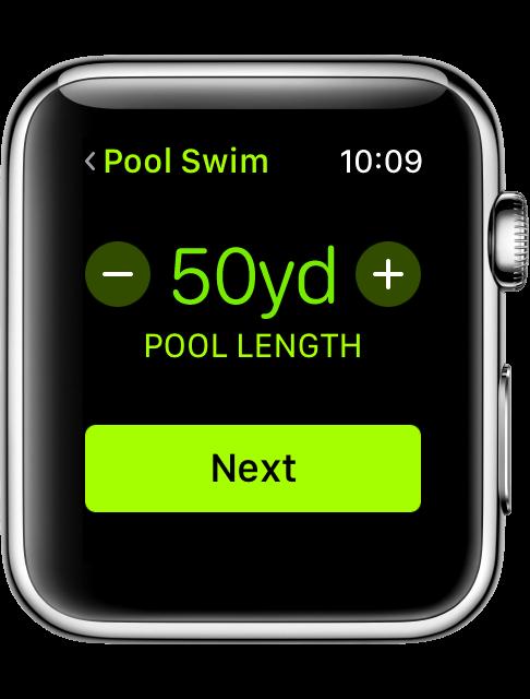 Wachos3 workout swim set pool length