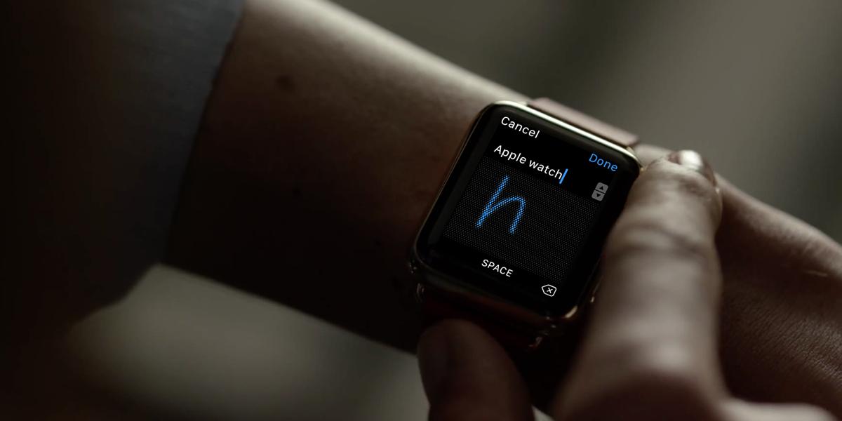 想像以上の使いやすさ、Apple Watchの手書き文字入力「Scribble(走り書き)」を試してみた!