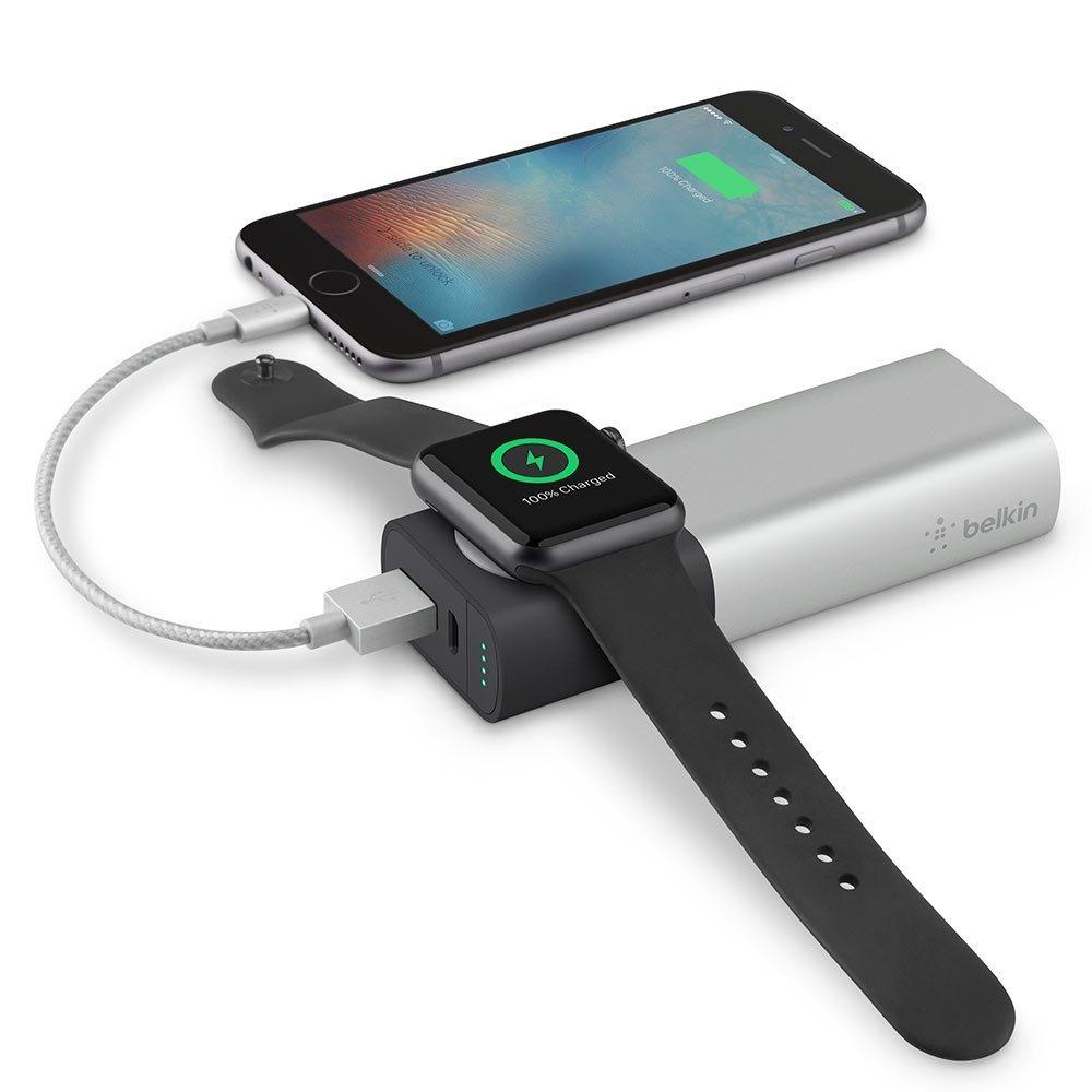Apple WatchとiPhoneを同時に充電可能なモバイルバッテリーが登場!国内販売は12月9日予定