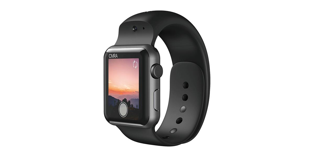 Apple Watchにカメラ機能を追加するバンド「CMRA」が登場!限定価格の149ドルで事前予約受付を開始