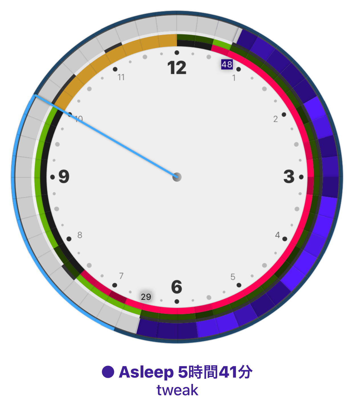 AppleWatchを利用した完全自動の睡眠分析アプリ「AutoSleep」がスゴい!
