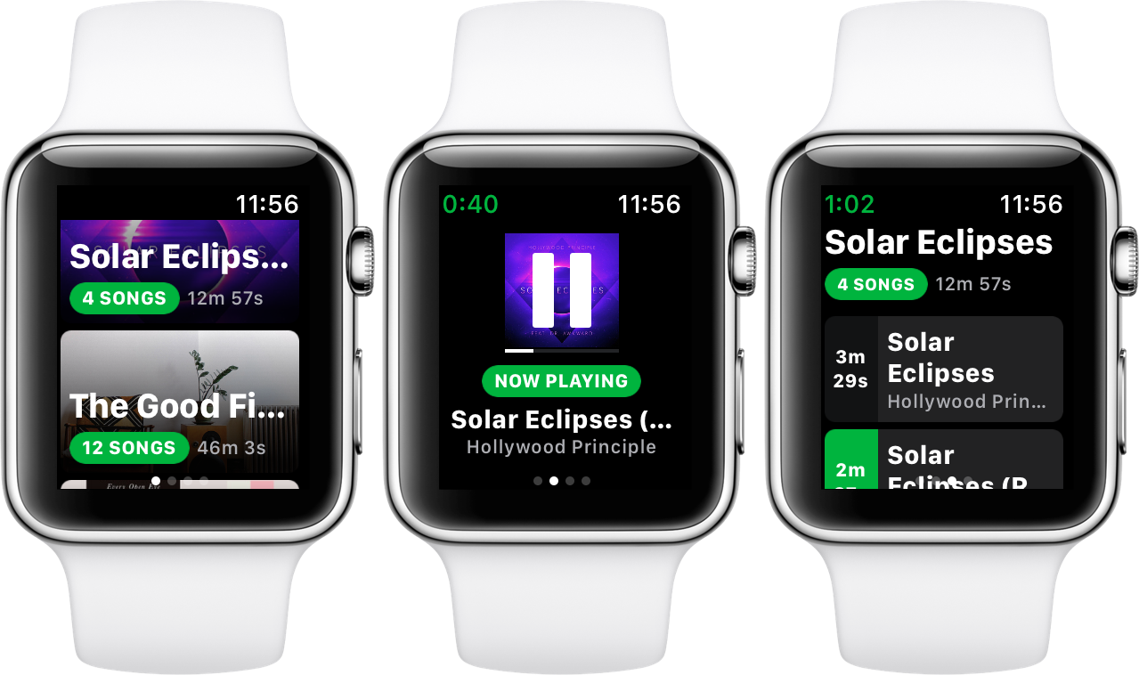 Apple watch spotify playback spotty