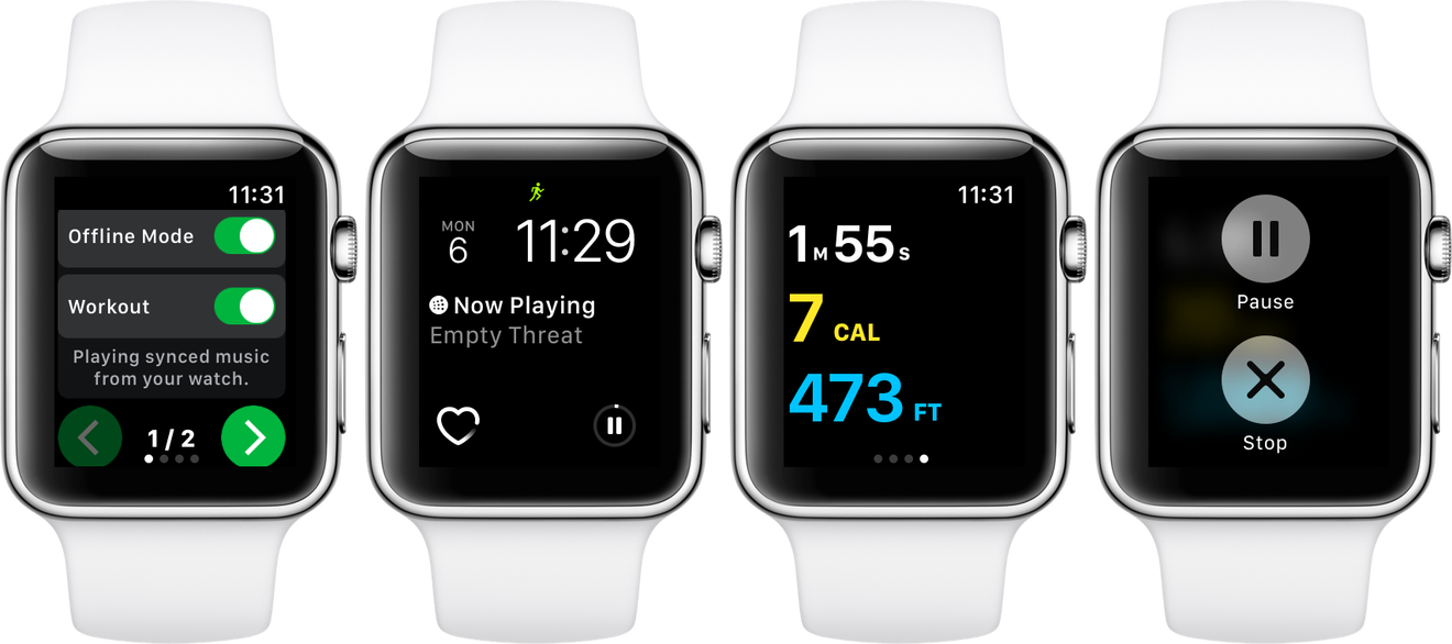 Spotty spotify workout apple watch1