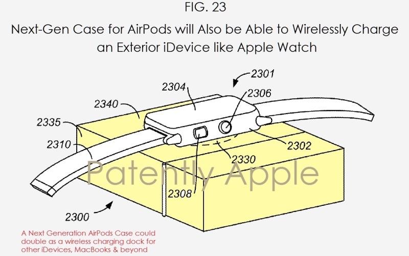 次世代のAirPods、専用ケースがAppleWatchやiPhoneの充電も可能なモバイルバッテリーに?