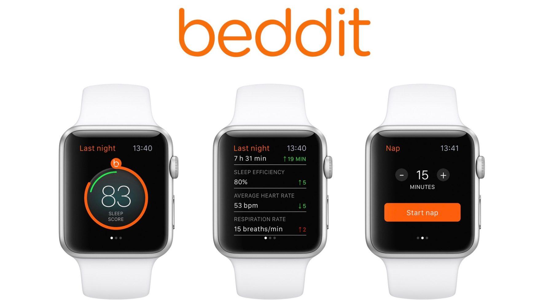 Applewatch beddit app