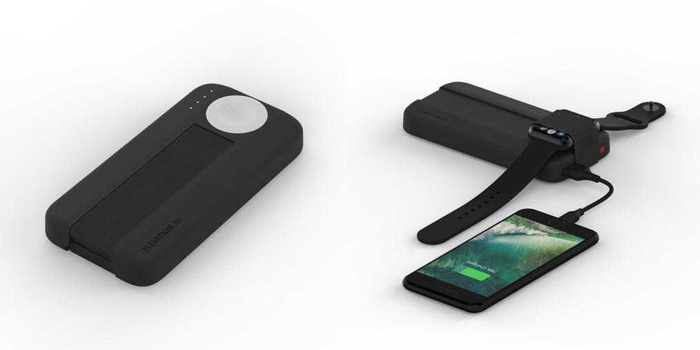 Apple WatchとiPhoneを同時に充電可能なモバイルバッテリー「BatteryPro」、AppleWatchを固定するバンド付きで便利そう!!