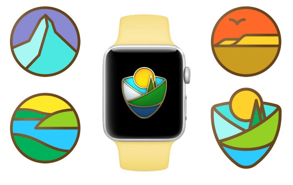 AppleWatchのアクティビティ向け限定チャレンジ「国立公園チャレンジ」、日本でも正式に開催へ