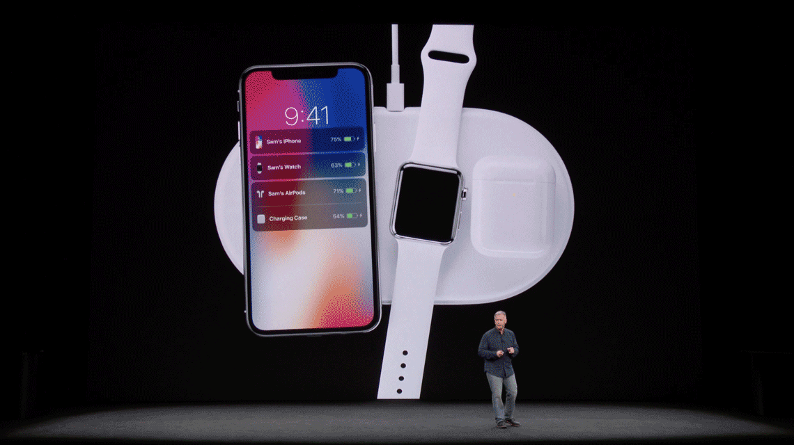 iPhone,AppleWatch,AirPodsを同時に充電できるワイヤレス受電ドック「AirPower(エアー・パワー)」、2018年発売へ