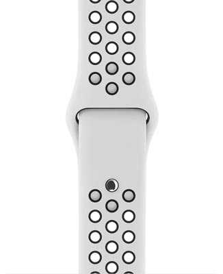 Grid sport band nike platinum