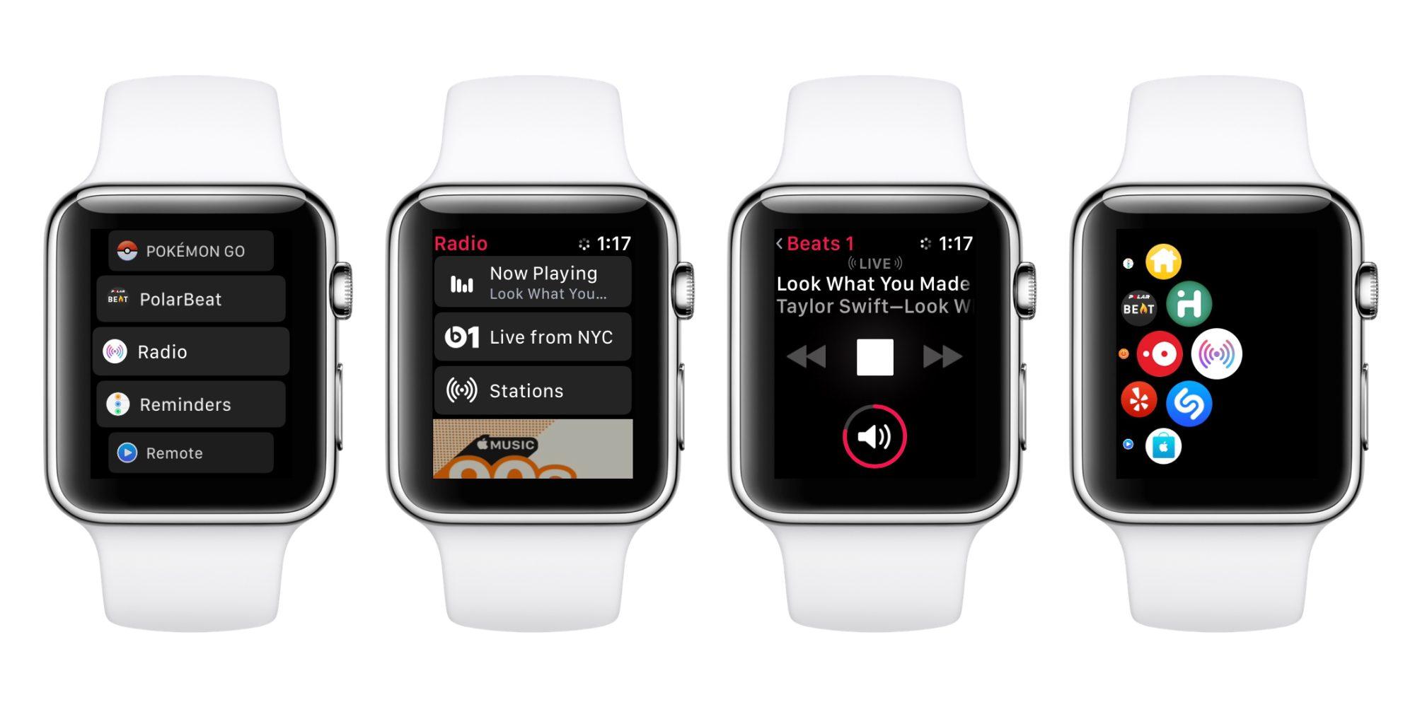 開発者向けのwatchOS 4.1 betaが公開!Apple MusicとRadioが追加されwatch単体でのミュージック機能が強化