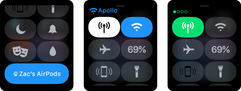 開発社向けにwatchOS 4.1 beta 2が公開。Wi-FiボタンやWi-Fi名の表示などが追加