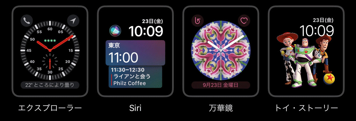 Watchos4 face