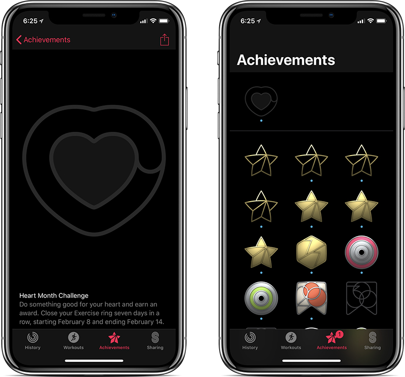 Apple watch valentines day challenge
