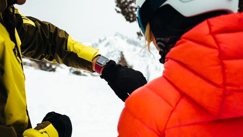 Apple Watch Series 3で、スキーやスノーボードのアクティビティトラッキングが可能に