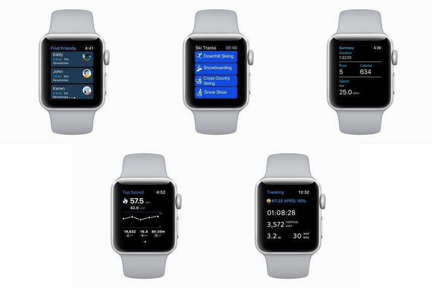 Apple Watch Series 3 find friends 20282018