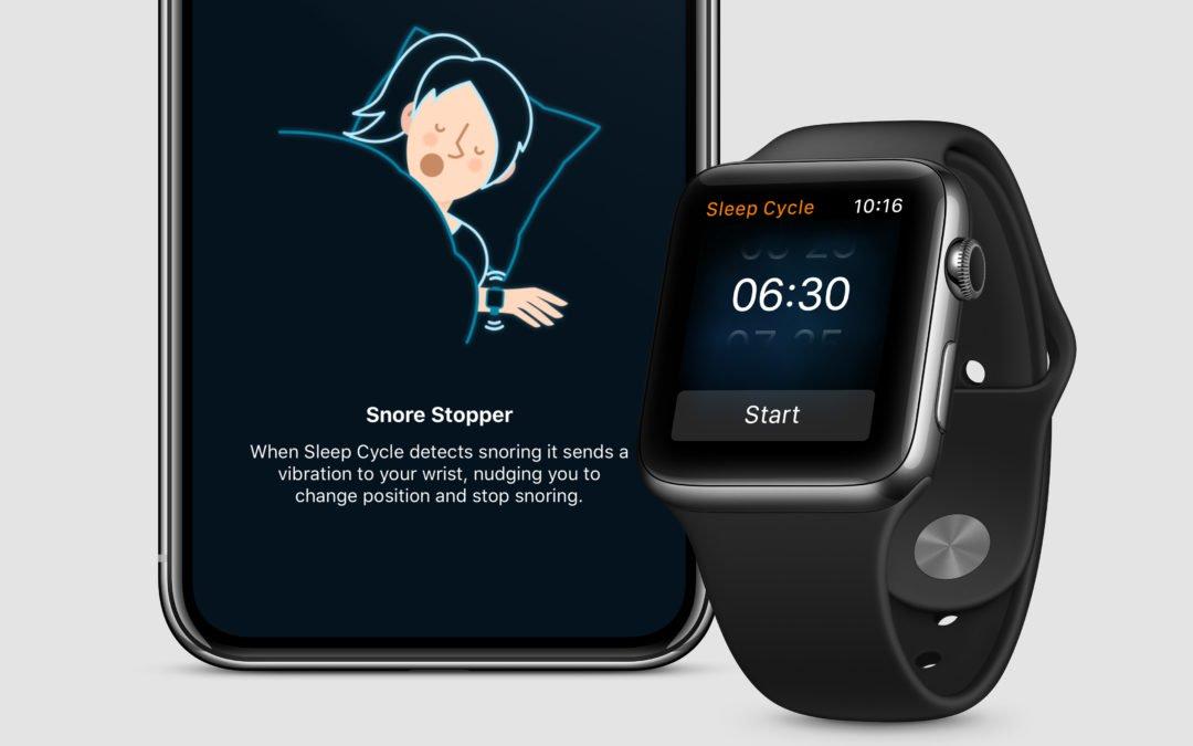 """定番睡眠アプリ「Sleep Cycle」にApple Watch向けの新機能が追加!""""いびき""""問題の解決へ"""