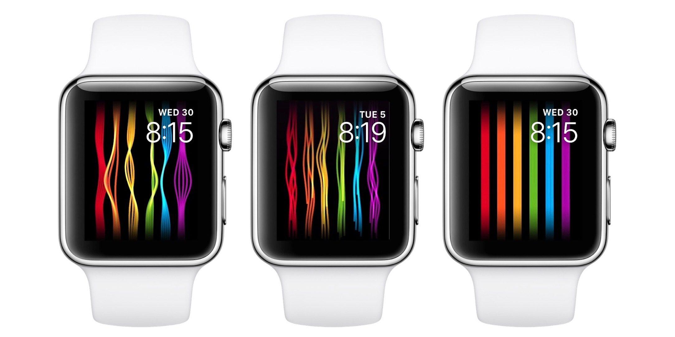 Apple Watchの新しい文字盤「プライド」が登場!WWDCの始まる6月5日から使用可能に