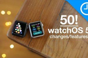 「watchOS 5」で変わる50のこと
