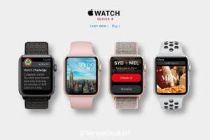 Apple Watch Series4、画面の大型化&薄ベゼル化によりiPhoneX系のデザインに刷新か