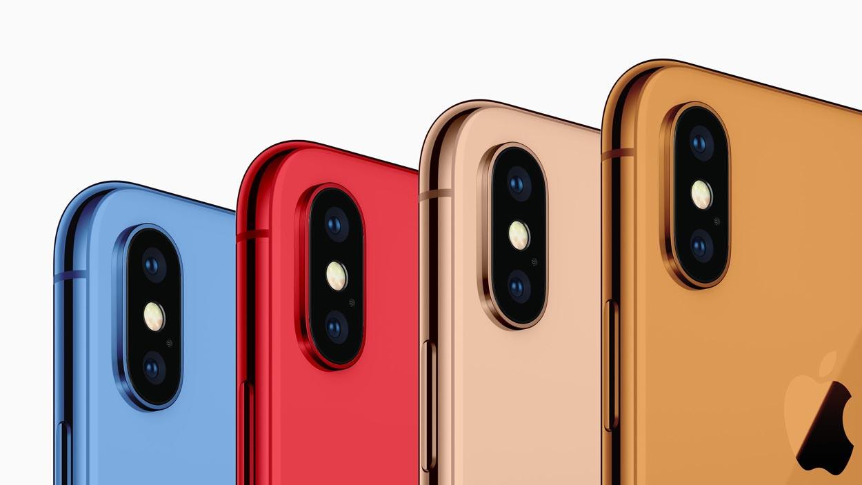 AppleWatchはどうなる?今秋発売予定のiPhoneXはカラーバリエーションが拡大!6色展開へ