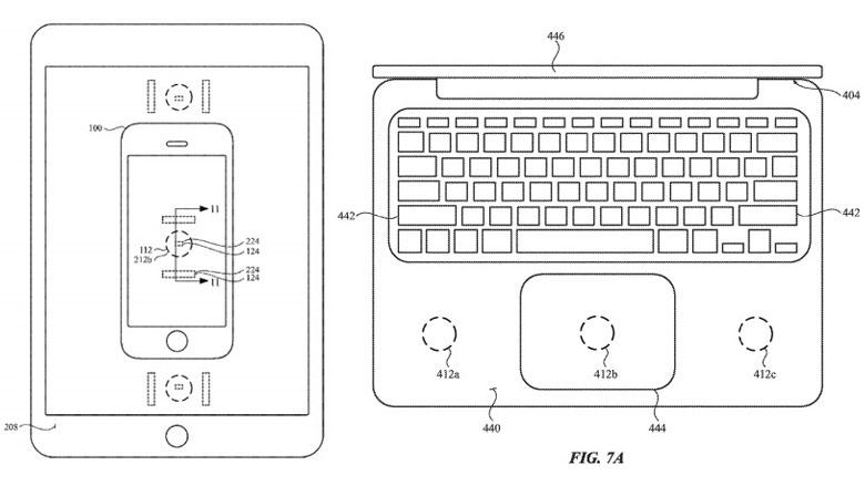 MacBookやiPadがiPhone,AppleWatchを充電できるワイヤレス充電器に!?Appleが驚きの機能の特許を申請